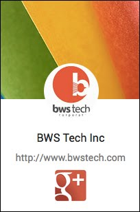 BWS Tech Google Plus Page